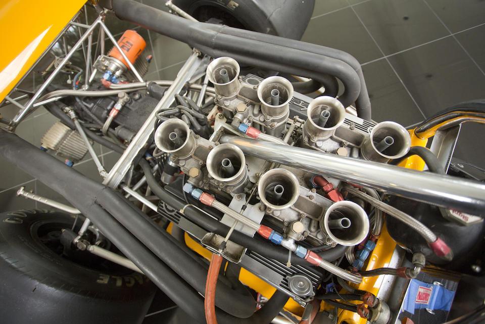 The ex-Steve Durst, Chuck Haynes, Mike Allison, Mike Yancheck,1970 MCLAREN-CHEVROLET M10B FORMULA A/5000 SINGLE-SEAT RACING CAR  Chassis no. 400-13
