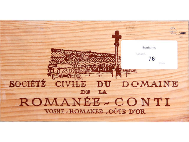 Domaine de la Romanée-Conti Assortment 1989 (12)