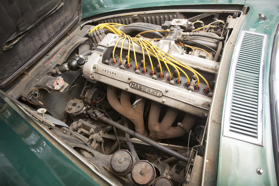 1967 MASERATI MISTRAL 4000 COUPE  Chassis no. AM109A1.1146 Engine no. AM109A1.1146