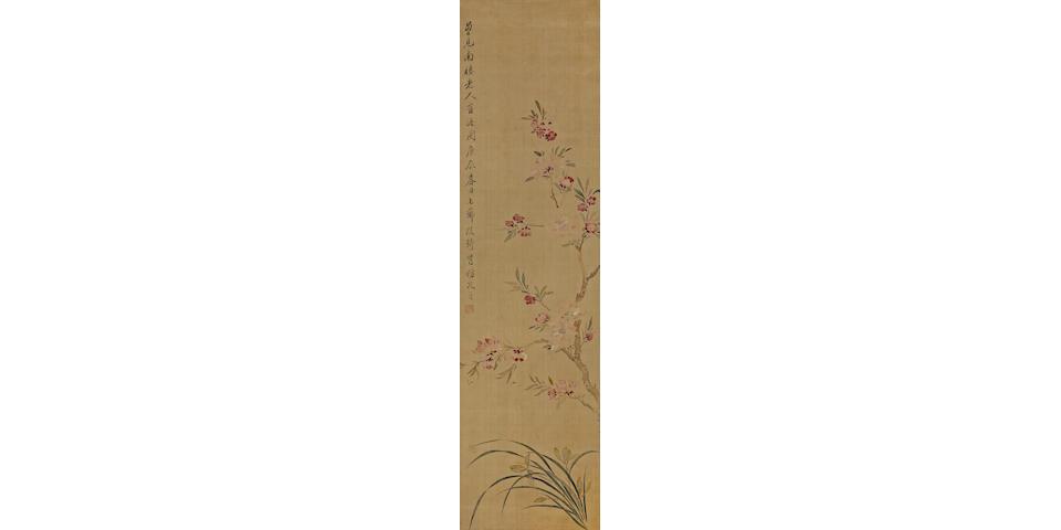 Gai Qi (1774-1829) Flowers