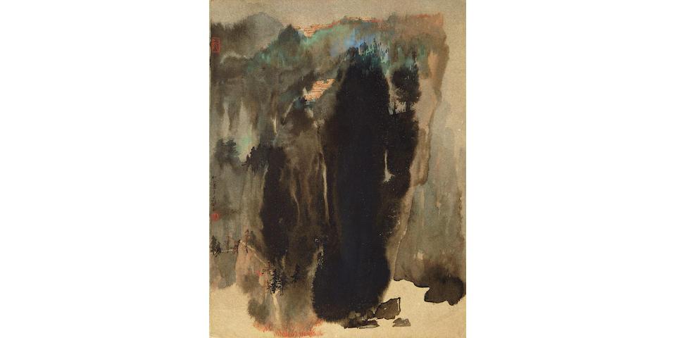 Zhang Daqian (1899-1983) Splashed-Ink Autumn Landscape, 1965