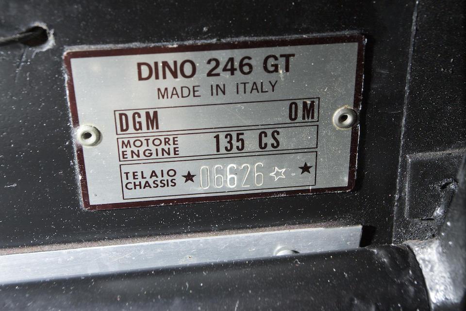 1973 FERRARI DINO 246 GT  Chassis no. 06626