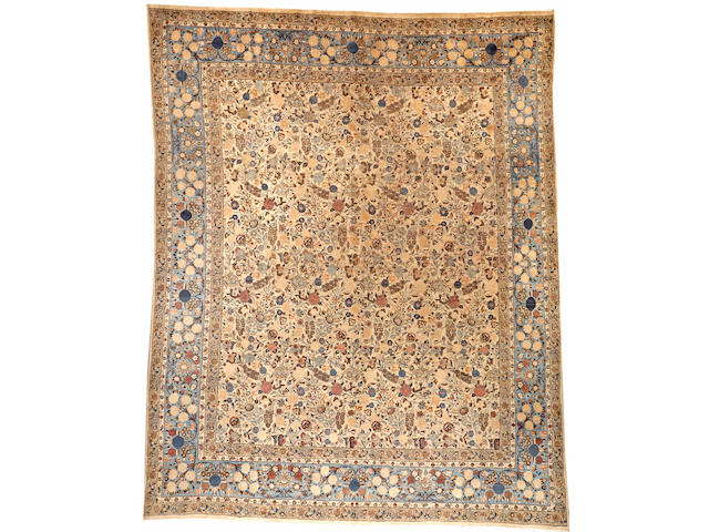 A Meshed carpet Northeast Persia size approximately 12ft. 8in. x 16ft. 9in.