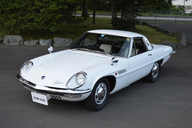 1967 MAZDA COSMO SERIES I  Chassis no. L10A-10260 Engine no. 10A-1245