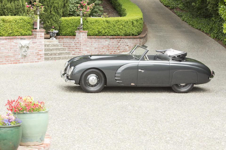 1949 VERITAS SCORPION CABRIOLET  Chassis no. 5218  Engine no. 32801 1601 BMW