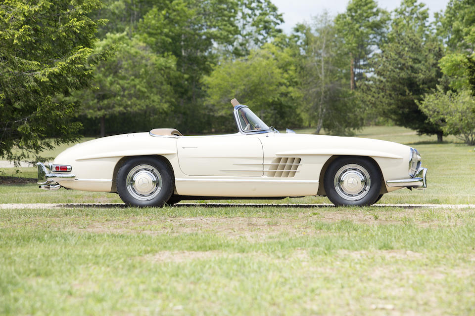 1957 MERCEDES-BENZ  300SL ROADSTER  Chassis no. 198.042-7500270 Engine no. 198.980.7500286