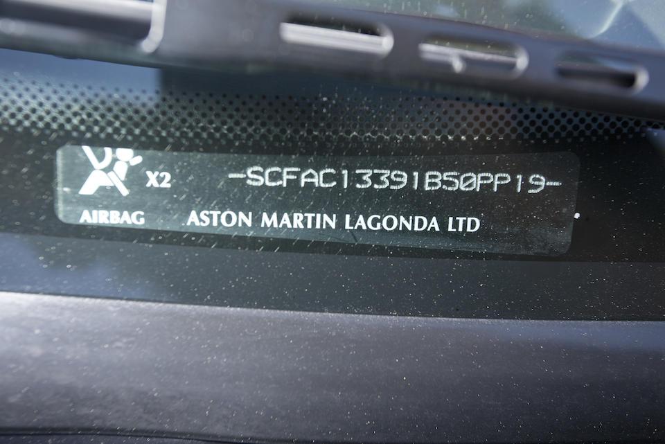 2004 ASTON MARTIN VANQUISH ZAGATO ROADSTER PROTOTYPEVIN. SCFAC13391B50PP19