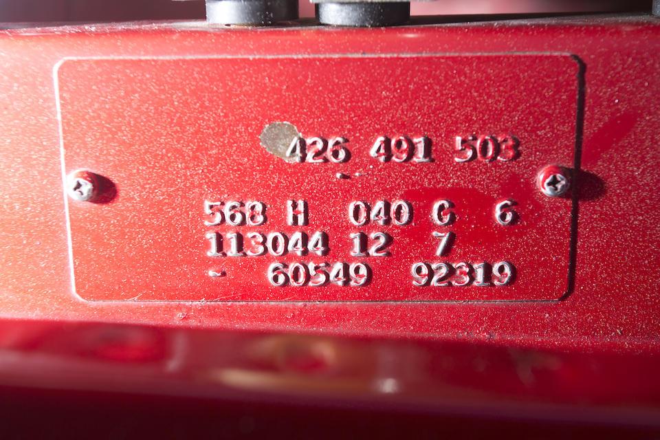 1969 MERCEDES-BENZ 280SL  Chassis no. 113044-12-009659