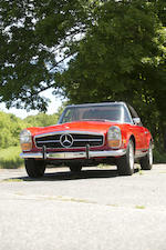 1969 MERCEDES-BENZ 280SL  Chassis no. 113044-12-009659