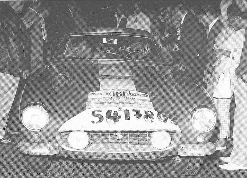 Third overall at Tour de France - Montlhéry and Watkins Glen Winning,1959 FERRARI 250 GT COMPETIZIONE ALLOY BERLINETTA  Chassis no. 1519GT Engine no. 1519GT