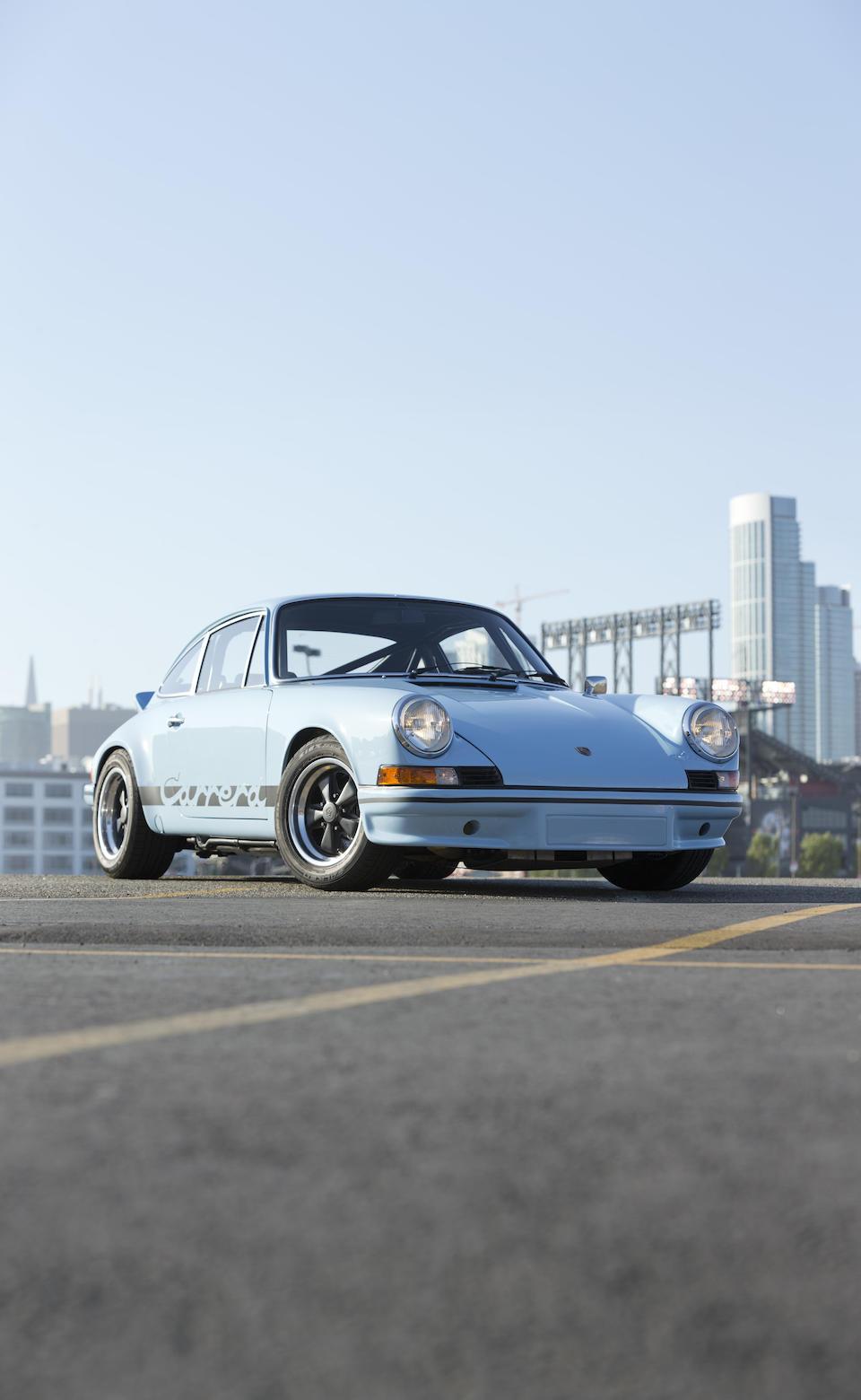 Bonhams 1973 Porsche 911 Carrera Rs 27 Chassis No