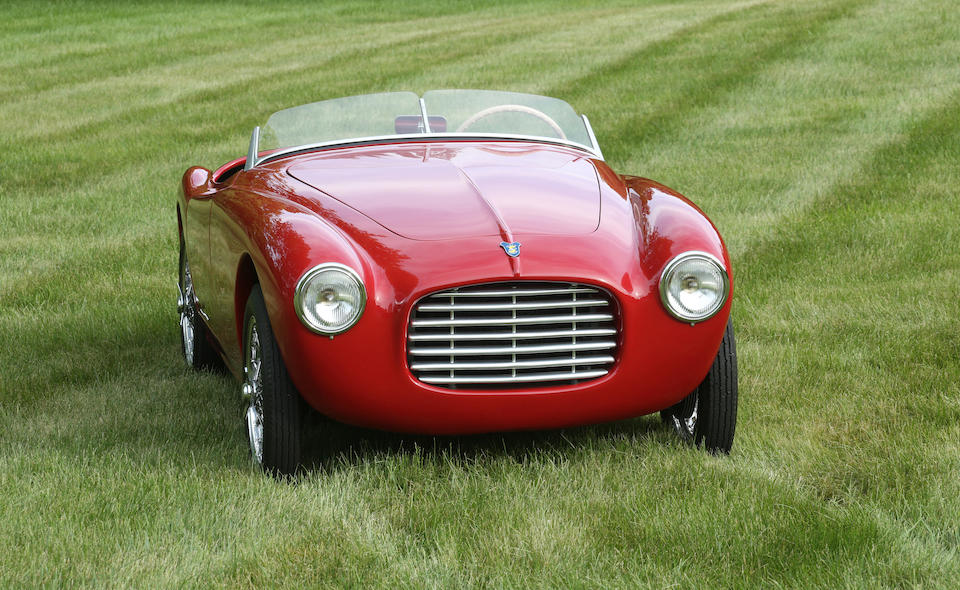 Ex- Henry Wessells III - Watkins Glen 2nd-in-Class finisher,1952 SIATA 300BC SPORT SPIDER  Chassis no. ST 403 BC Engine no. 308748