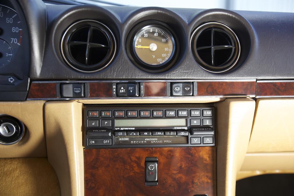 1987 MERCEDES-BENZ 560SLVIN. WDBBA48D5HA070814  Engine no. 117967.12.023859