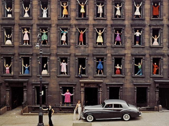 Ormond Gigli (born 1925); Girls in the Windows, New York City;
