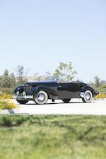 1937 CORD 812 PHAETON  Chassis no. 1814H Engine no. FB791 (see text)
