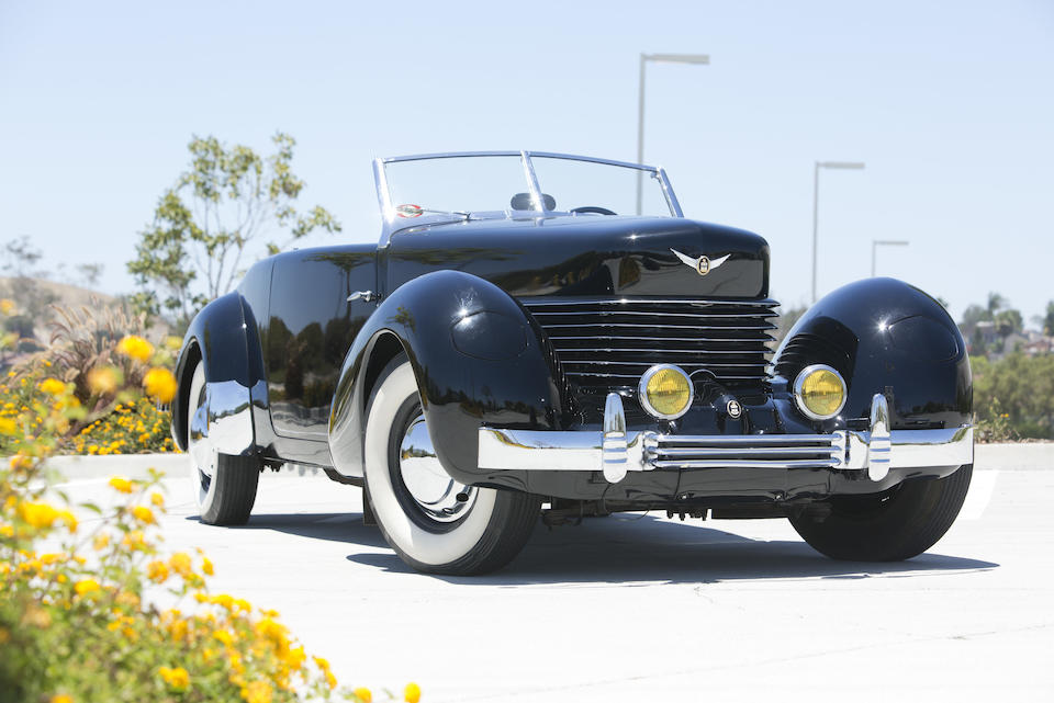 1937 CORD 812 PHAETON  Chassis no. 1814H Engine no. FB791 (see text)
