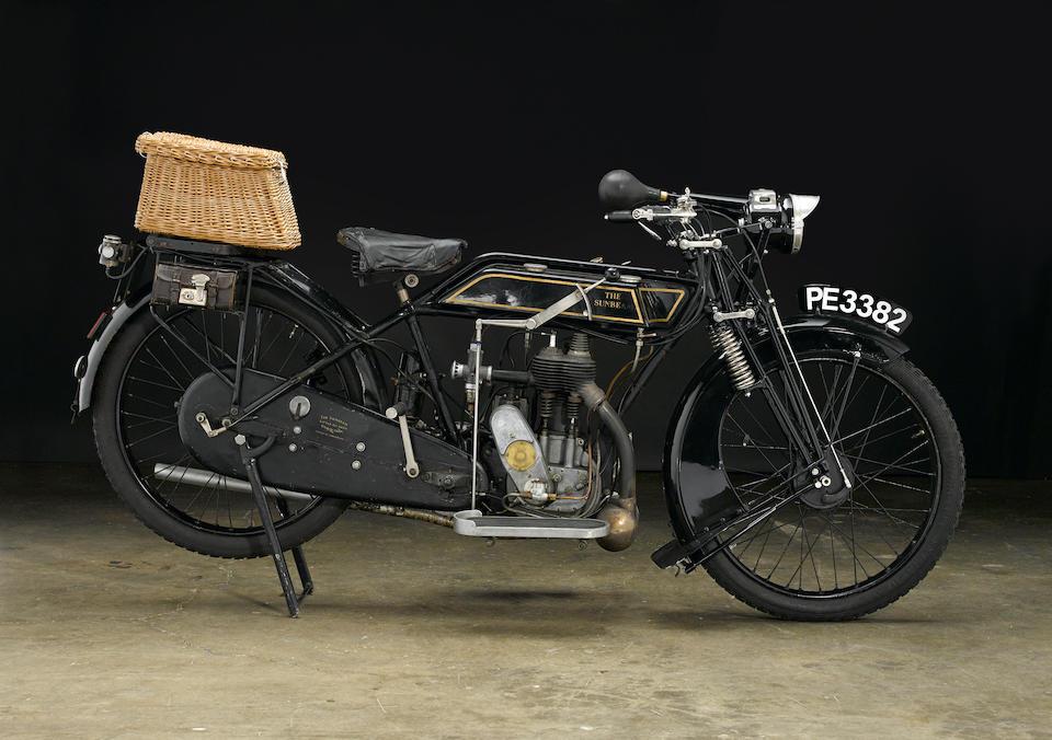 1924 Sunbeam Model 5 Frame no. 08184 Engine no. 245162315