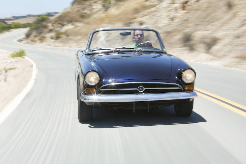 1966 SUNBEAM  TIGER SERIES I  Chassis no. B382000023LRXFE