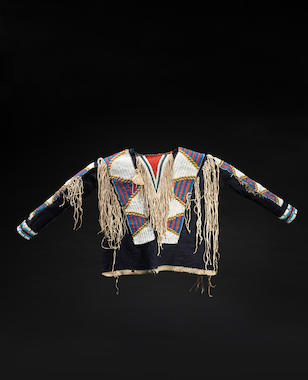 A Ute beaded shirt