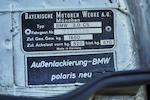 1972 BMW 3.0 CSL  Chassis no. 2275024 Engine no. 2275024