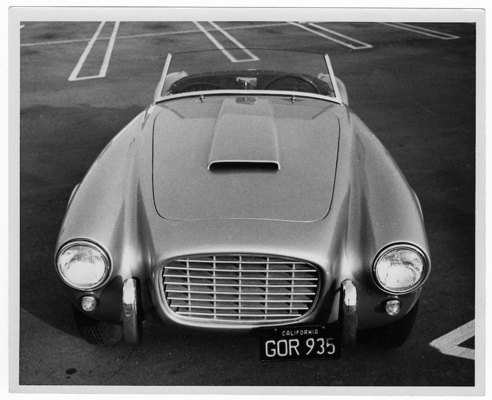 1953 SIATA 208S SPORTS TWO SEATER  Chassis no. BS 509 Engine no. BS 073