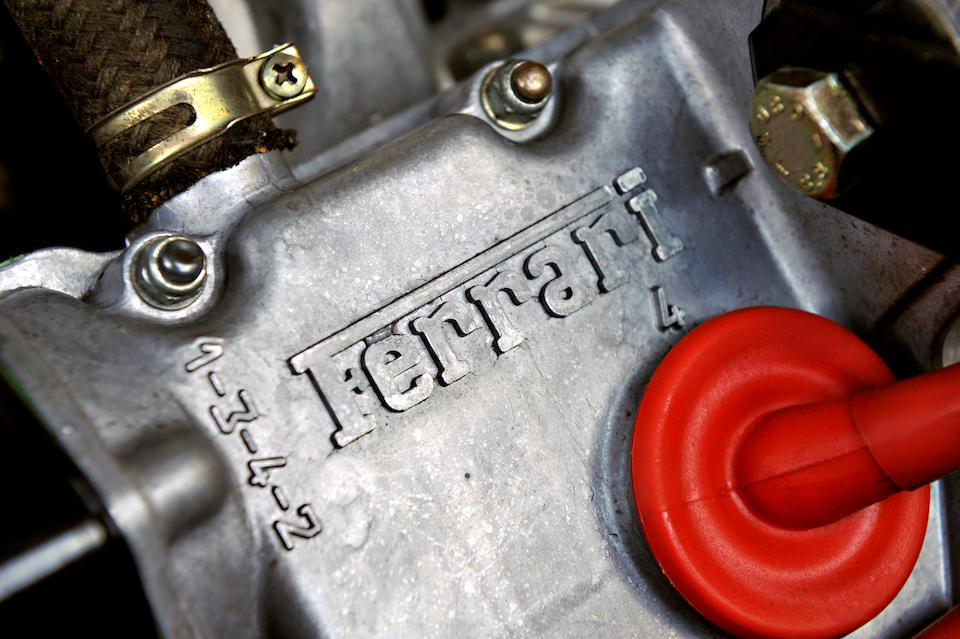 1987 FERRARI 328 GTS  Engine no. 01012