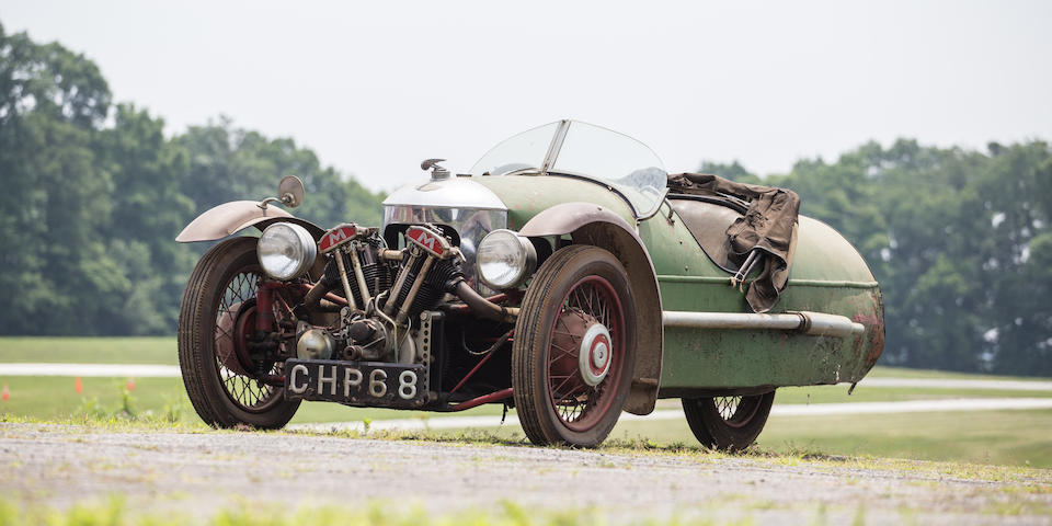 <B>1937 Morgan Super Sports</B><BR />Chassis no. D1731<BR />Engine no. MX/2654