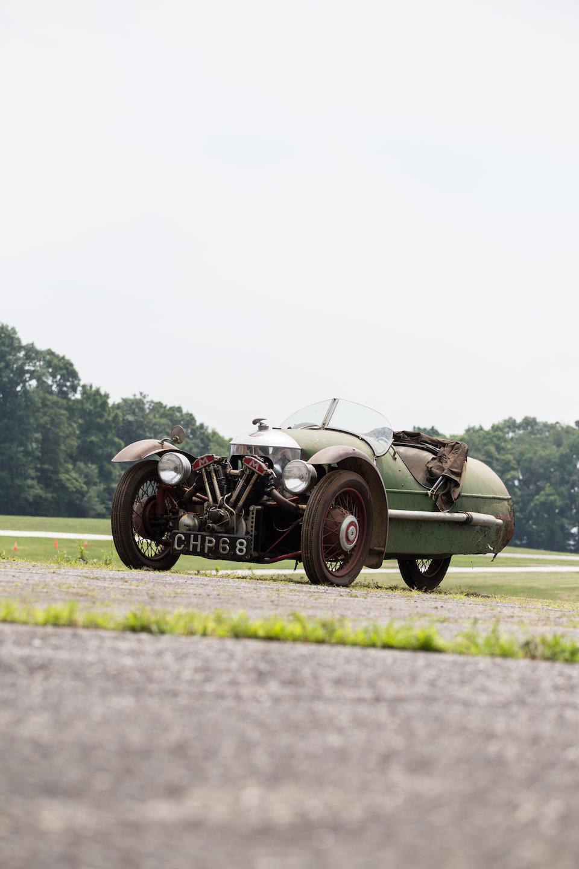 <B>1937 Morgan Super Sports</B><BR />Chassis no. D1731<BR />Engine no. MX/2654