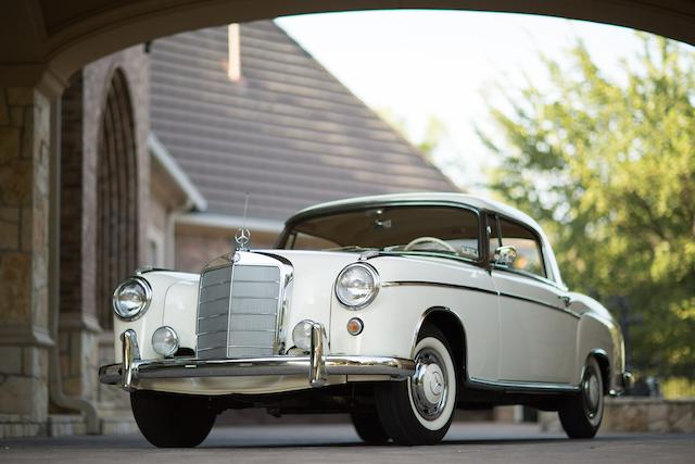 1959 MERCEDES-BENZ 220S COUPE  Chassis no. 180037.11.9509647 Engine no. 180924.11.9502539