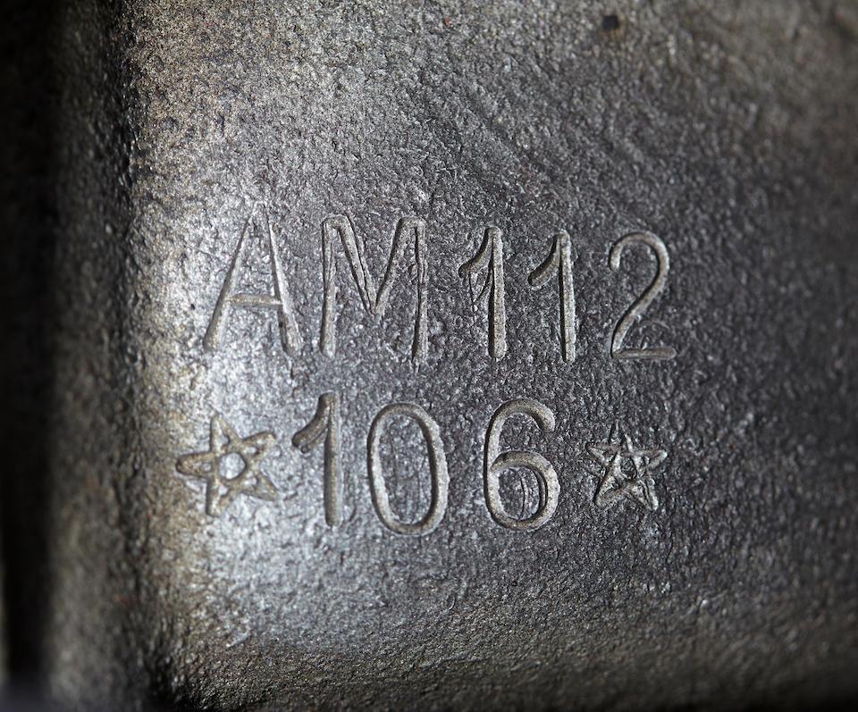 1967 MASERATI MEXICO COUPE  Chassis no. AM.112.106 Engine no. AM.112.106