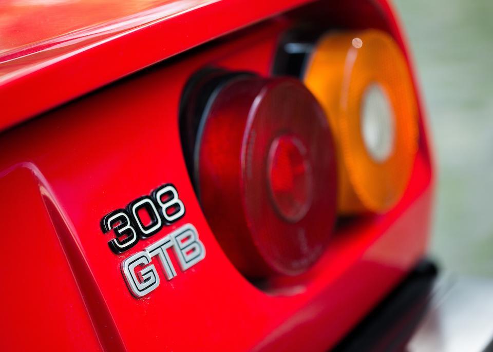 1979 FERRARI 308 GTB  Chassis no. F106AB30461 Engine no. F106AE01816