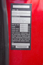 1985 FERRARI 288GTOVIN. ZFFPA16B000054243  Engine no. F114B00100