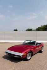 1971 FERRARI 365 GTS/4 DAYTONA SPIDER  Chassis no. 14537 Engine no. B1194