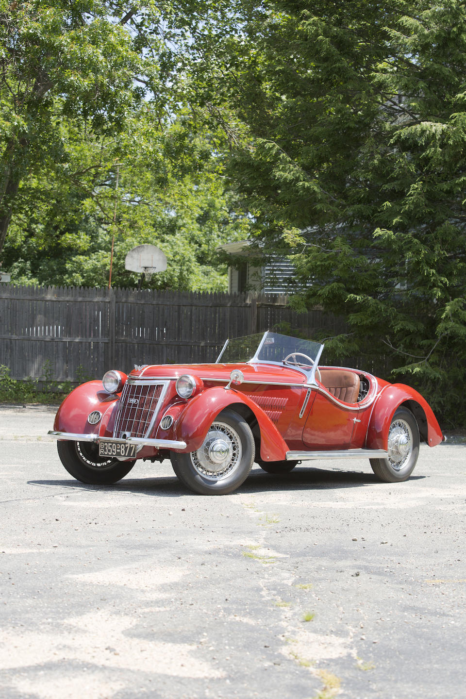 <i>Offered from a prominent European Collection</i><br /><b>1936 WANDERER W25 K ROADSTER  </b><br />Chassis no. 252702 <br />Engine no. 252922