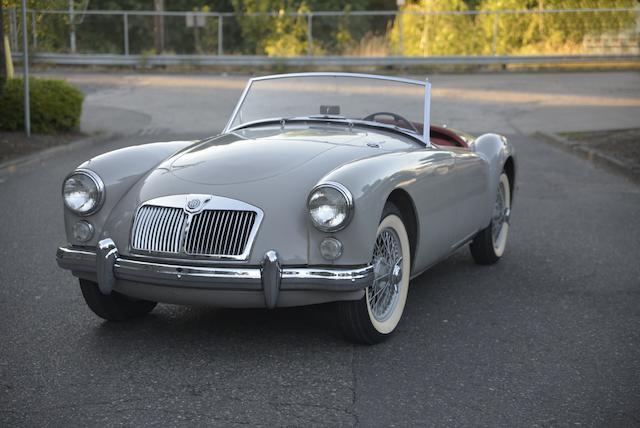 1960 MGA 1600 ROADSTER  Chassis no. GHN-L 84466 Engine no. 16GA-U 15691