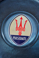 1972 MASERATI GHIBLI 4.9 SS COUPE  Chassis no. AM115.49.2490 Engine no. AM115.49.2490