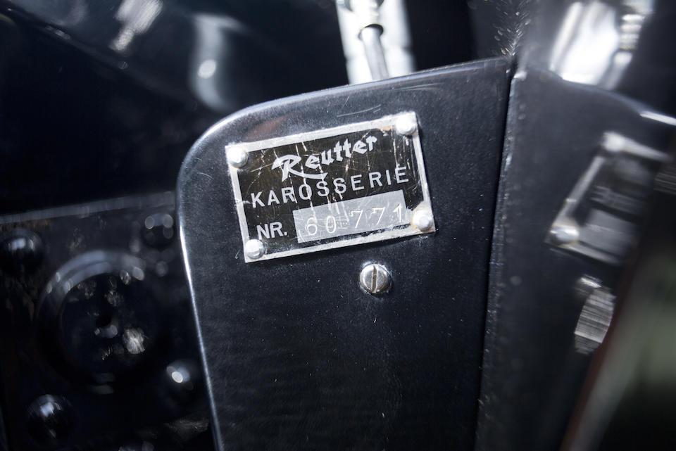 1955 PORSCHE 356 PRE-A CONTINENTAL CABRIOLET  Chassis no. 60771 Engine no. P*35786