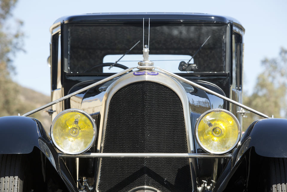 1930 AVIONS VOISIN  C14 FIVE-PASSENGER BERLINE  Chassis no. 27966 Engine no. 28043