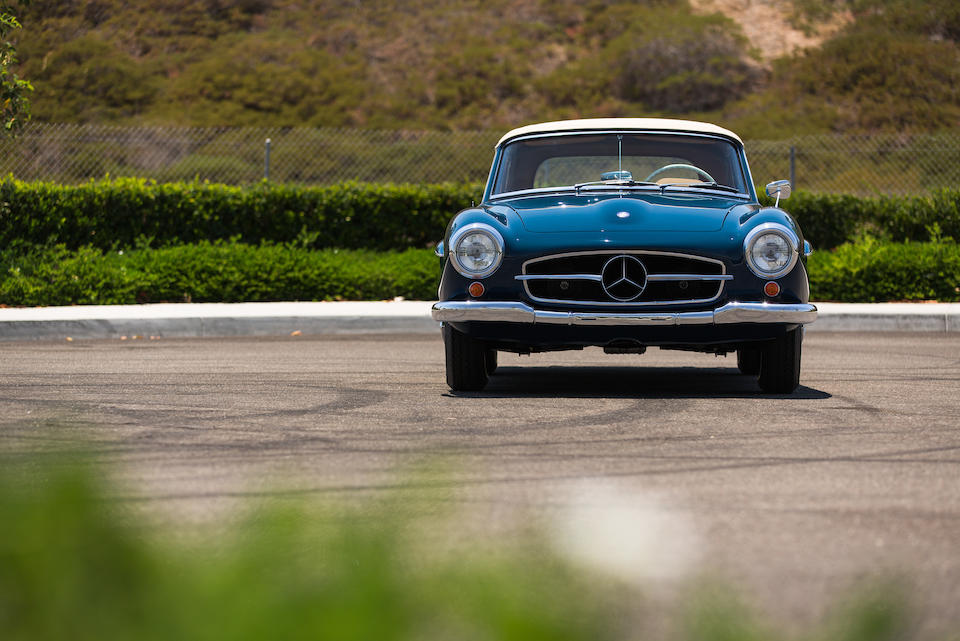 1959 MERCEDES-BENZ 190SL  Chassis no. 121042.10.015590 Engine no. 121921.10.015682