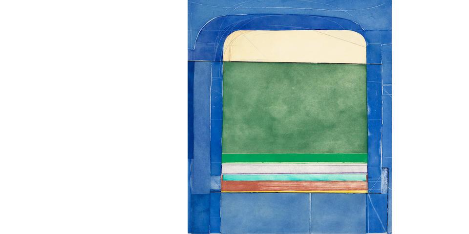 Richard Diebenkorn (1922-1993); Blue Surround;