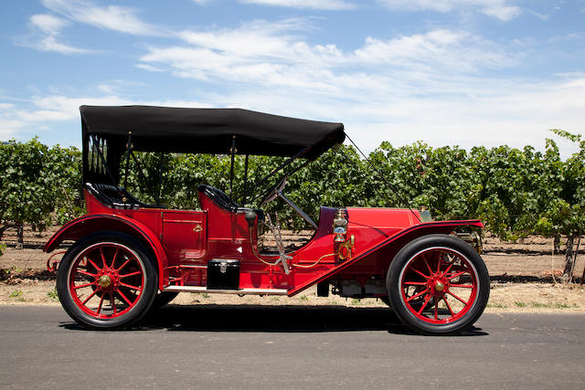 1911 KISSEL KAR MODEL D-11 50HP TOY TONNEAU  Engine no. 6197