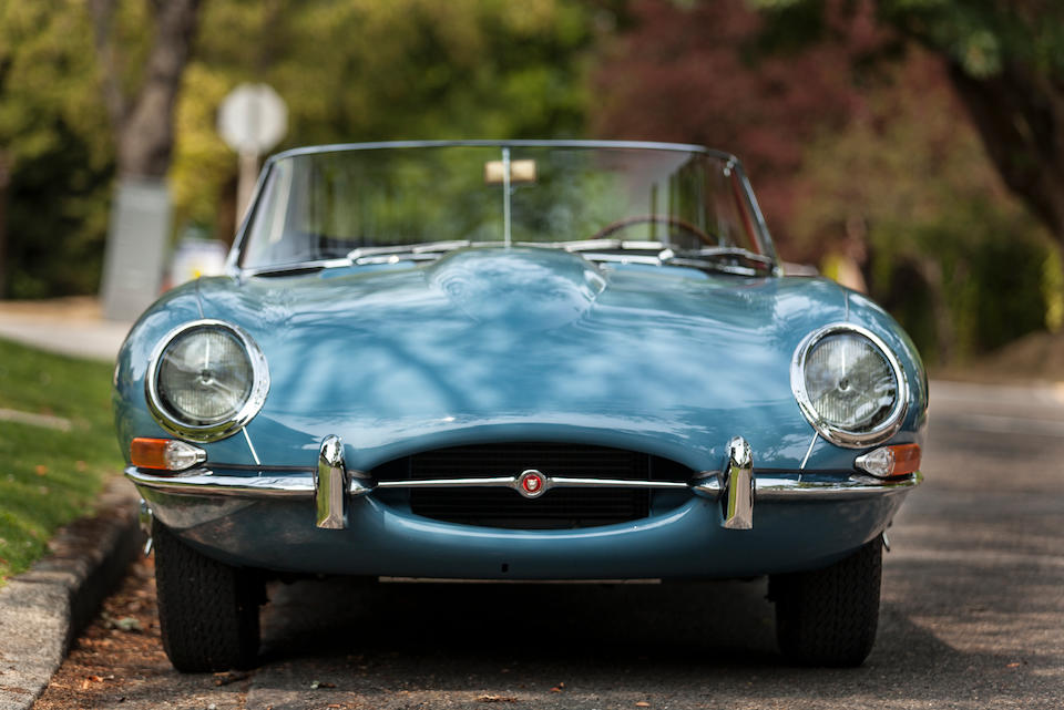 1961 JAGUAR E-TYPE SERIES 1 3.8 ROADSTER  Chassis no. 875400 Engine no. R1523-9