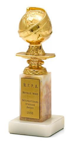 "A Natalie Wood ""International Stardom"" Golden Globe"