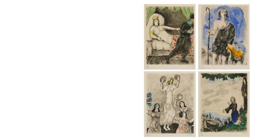Marc Chagall (1887-1985); La Bible;