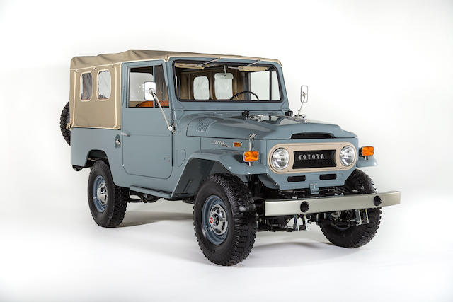 1971 TOYOTA LAND CRUISER FJ43  Chassis no. FJ43-22189 Engine no. F-328907