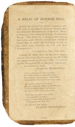 THE BUNKER HILL BIBLE OF FRANCIS MERRIFIELD. The Holy Bible.  Edinburgh: printed by Adrian Watkins, 1755.