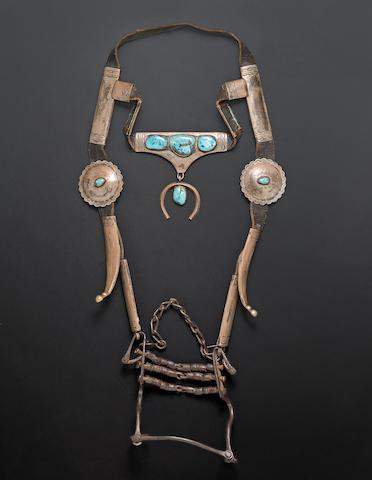 A Navajo headstall