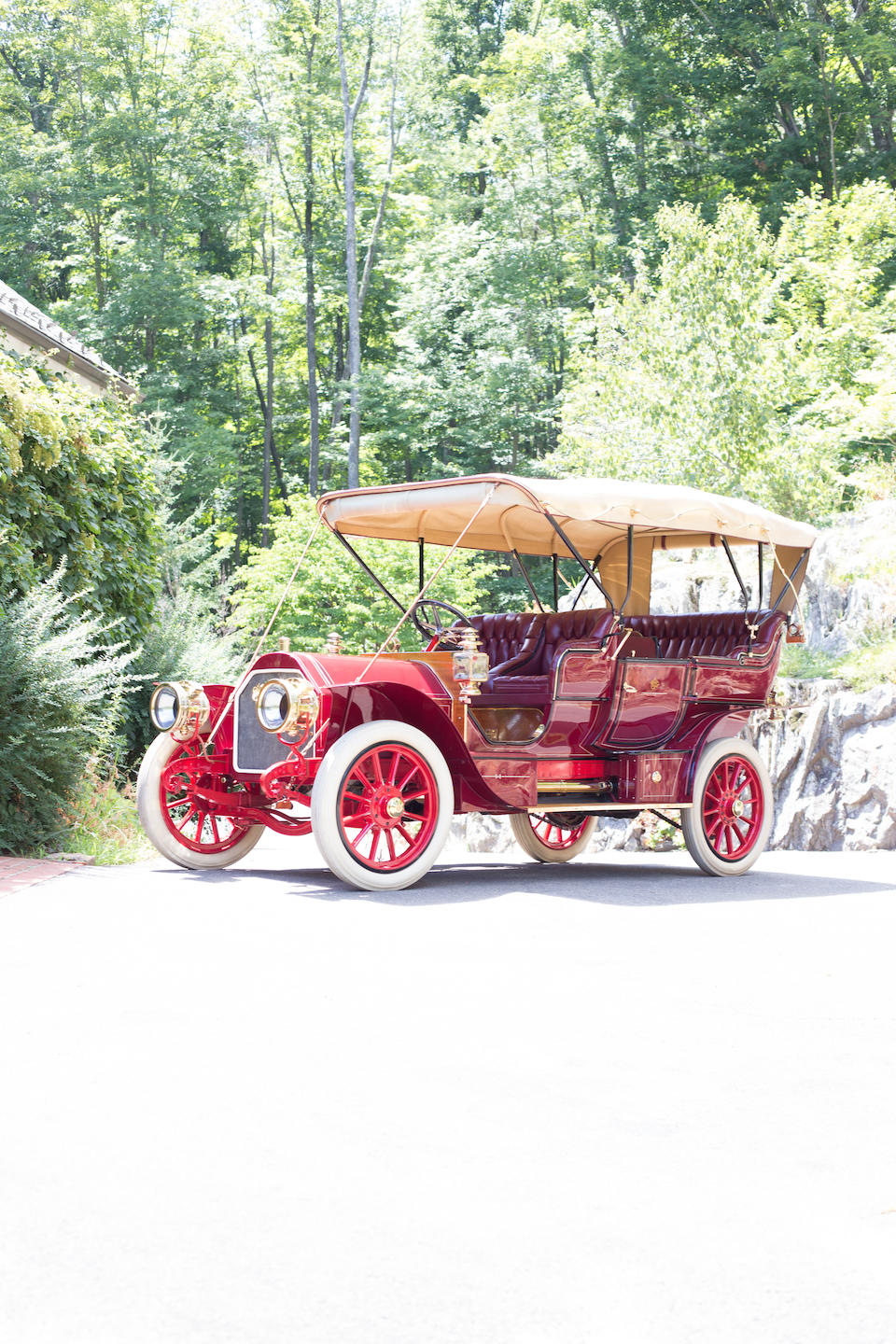 <i>The Ex-William F. Harrah, James A. Conant Collections</i><BR /><B>1907 Stearns 60hp Seven Passenger Touring</B><BR />Chassis no. 350<BR />Engine no. 150