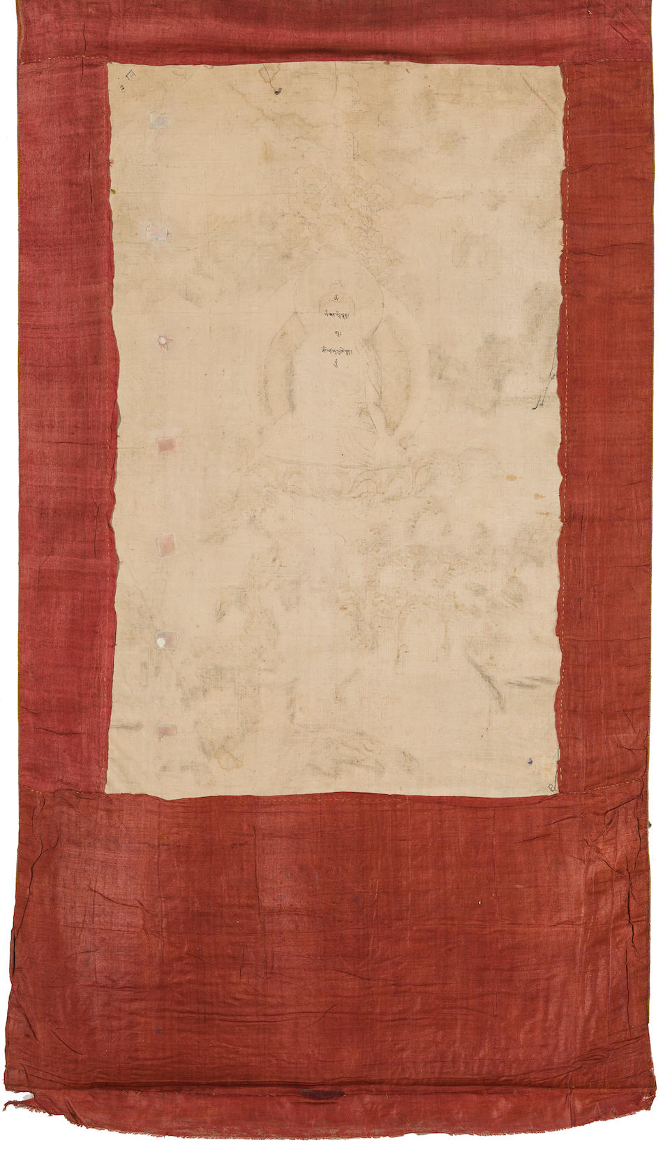 A thangka from an Avadanakalpalata set Central Tibet, 18th/19th century
