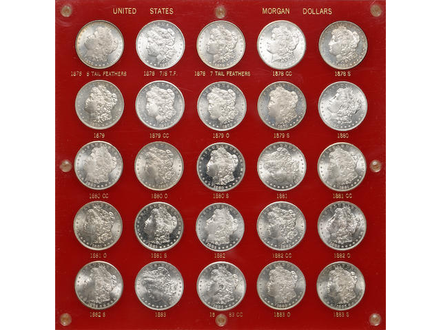 Morgan Silver Dollar Set 1878-1921-PDS